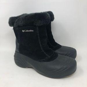 Columbia Black Sierra Flurry Winter Snow Boots 7.5